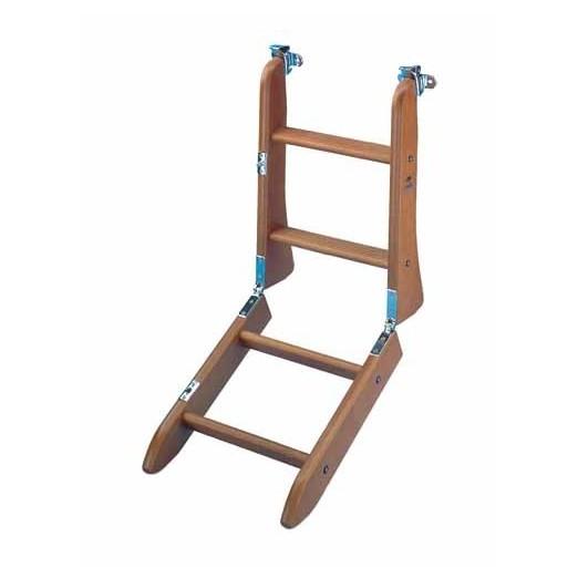 Escalera plegable madera nautica avi o - Escalera plegable para altillo ...