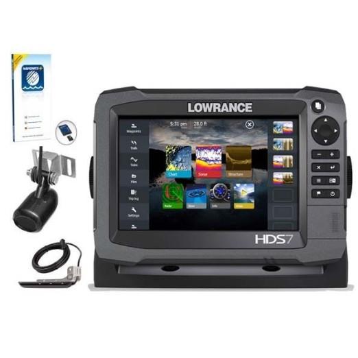 Oferta Lowrance HDS 7 Gen3 Con Transductores y Cartografía