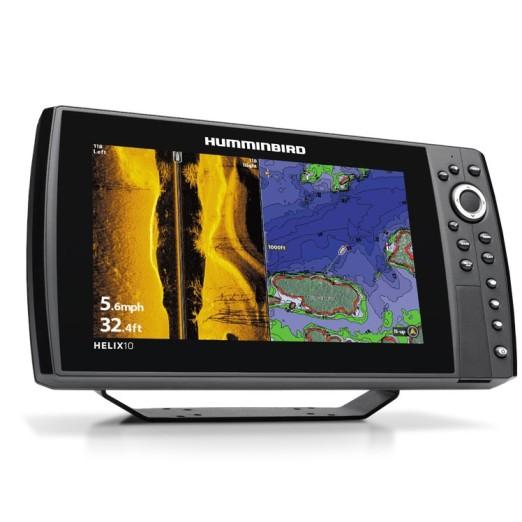 Humminbird Helix 10 GPS Sonda SI