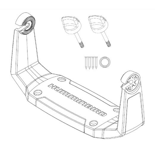 Soporte U Humminbird GM H7 para Helix 7