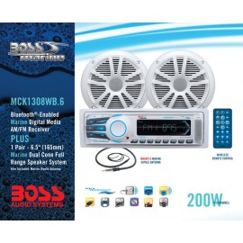 Pack Radio y Altavoces Boss Audio MR1308UAB Bluetooth