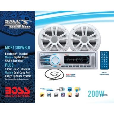 Pack Radio y Altavoces Boss Audio MR1308UAB Bluetooth