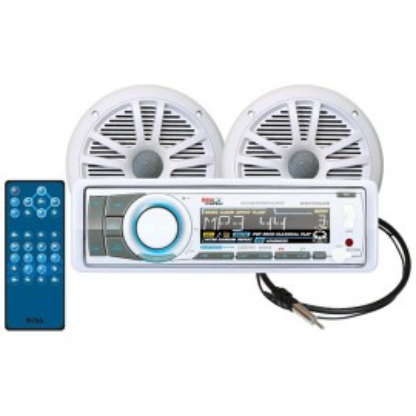 Pack Radio y Altavoces Boss Audio MR752UAB CD y Bluetooth