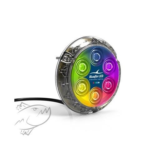 Bluefin LED PIRANHA P6 Colores Luces Subacuáticas