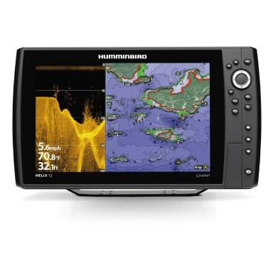 Humminbird Helix 12 GPS Sonda DI