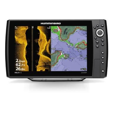 Humminbird Helix 12 GPS Sonda SI