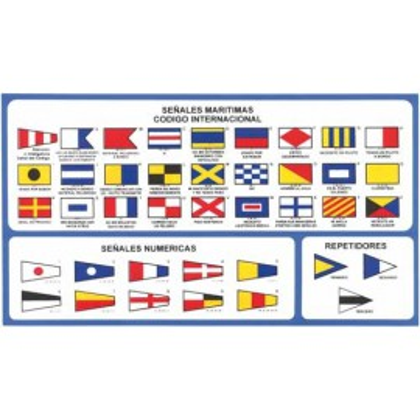 Código Banderas Adhesivo