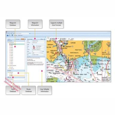 Software Navegación Raymarine Voyage Planner