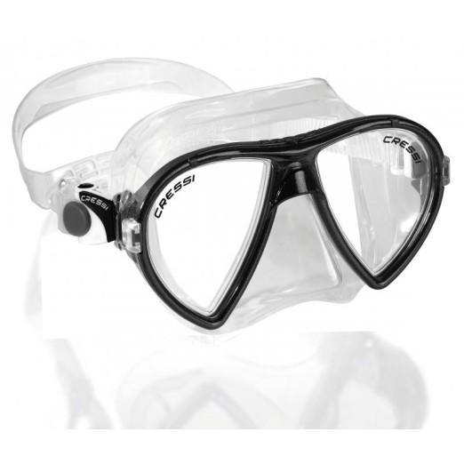 Cressi Ocean - Máscara de buceo, color transparente