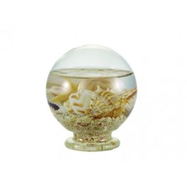 Bola Cristal Caracolas Pequeño (6u)