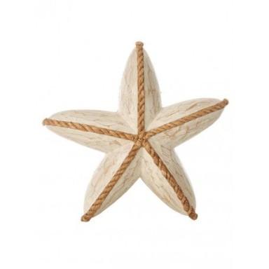 Estrella Decorativa Madera (1u)
