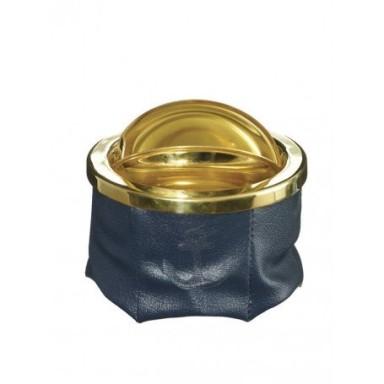 Cenicero Azul Marino Poli-Piel (1u)