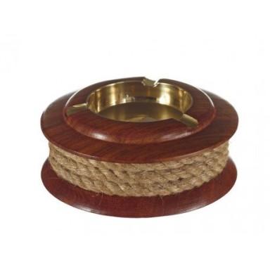 Cenicero Cuerda Madera