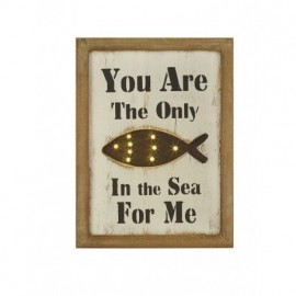 Cuadro Luces Led You Are The Only Fish In The Sea For Me (1u)