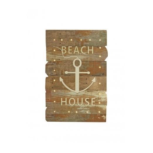 Cuadro Luces Led Beach House