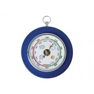 Barómetro Madera Azul