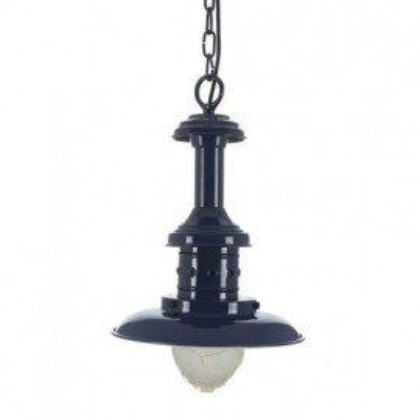 Lámpara Decorativa Techo Náutica Azul