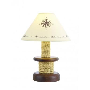 Lámpara Decoración Cabrestante Pantalla Puntos Cardinales (1u)