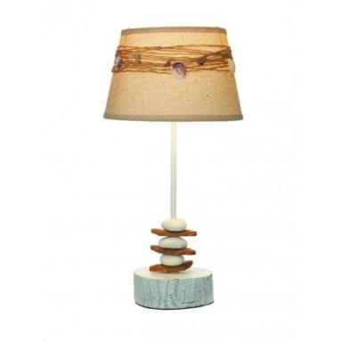 Lámpara Decorativa Piedras Conchas