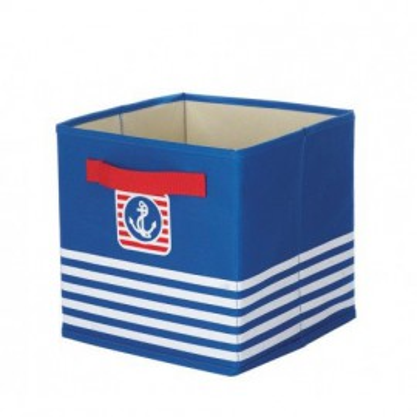 Caja Decoración Ordenación Azul