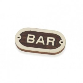 Placa Decorativa Bar