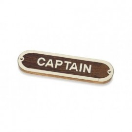 Placa Decorativa Captain (2u)