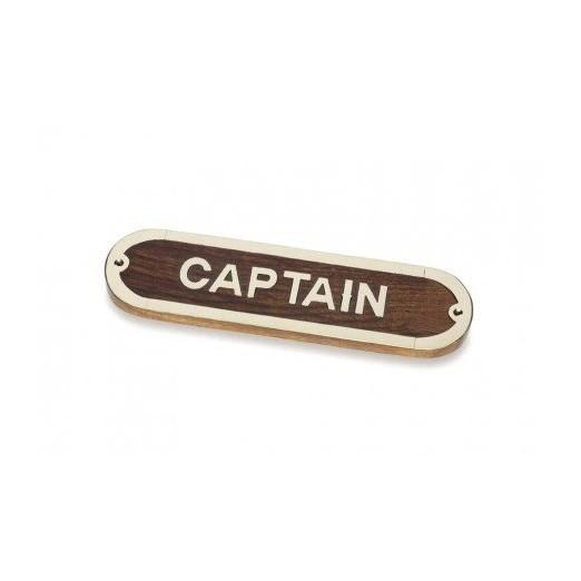 Placa Decorativa Captain