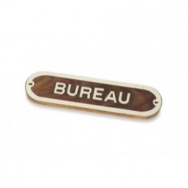 Placa Decorativa Bureau (2u)