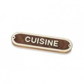 Placa Decorativa Cuisine (2u)
