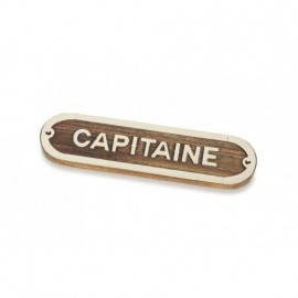 Placa Decorativa Capitaine