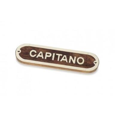 Placa Decorativa Capitano