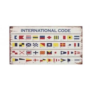 Placa Madera Internacional Code