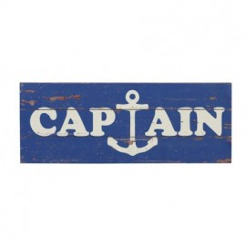 Placa Madera Captain