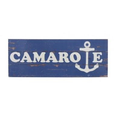 Placa Madera Camarote