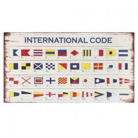 Placa Madera International Code