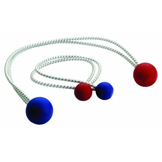 Elástico con Bolas Plástico