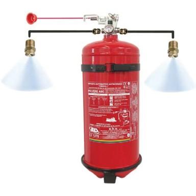 Extintores Fijos Automáticos Disparo a Distancia Gas HFC 227