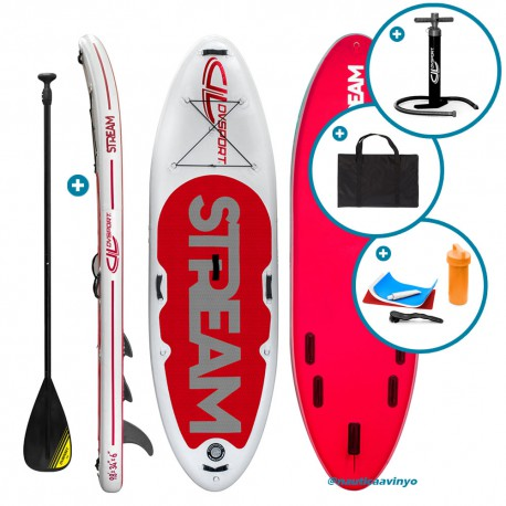 "DVSport 9'8"" Yoga SUP Hinchable"