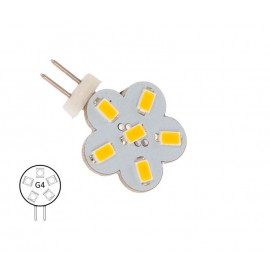 Bombilla G4 Pines Laterales 6 Led NauticLED Blanco Día