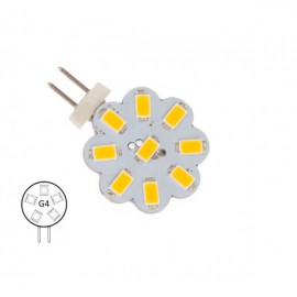 Bombilla G4 Pines Laterales 9 Led NauticLED Blanco Día