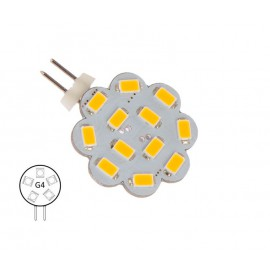 Bombilla G4 Pines Laterales 12 Led NauticLED Blanco Día