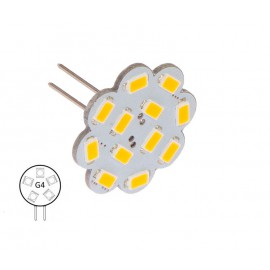 Bombilla G4 Pines Traseros 12 Led NauticLED Blanco Día