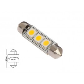 Bombilla Led Festoon 37mm 3 Led