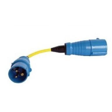 Cable Adaptador CEE 16A a CEE 32A 250V