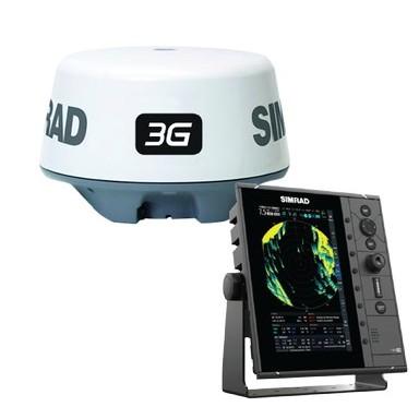 Pack Radar Simrad R2009 y Antena Radar Simrad 3G
