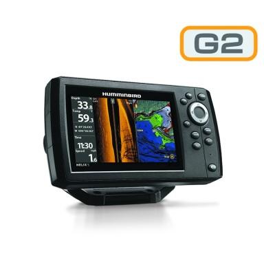 Humminbird Helix 5 G2 GPS Sonda SI