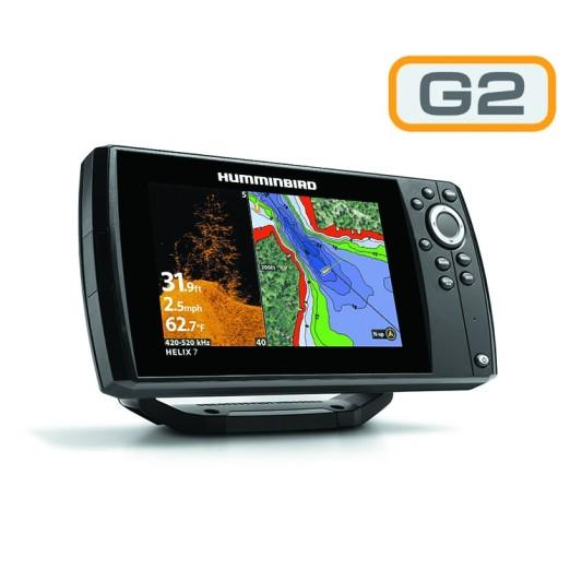 Humminbird Helix 7 G2 GPS Sonda DI