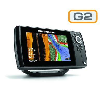 Humminbird Helix 7 G2 GPS Sonda SI