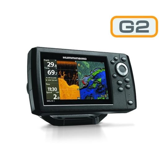 Humminbird Helix 5 GPS Sonda DI G2