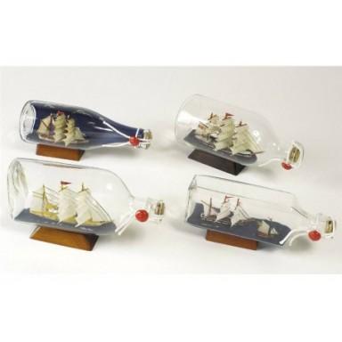 Barco En Botella Decoración Diferentes Formas